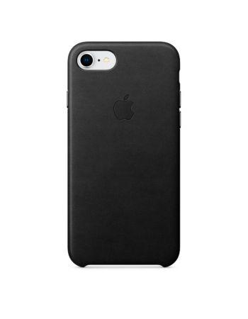 Чехол для iPhone Apple iPhone 8 / 7 Leather Case Black